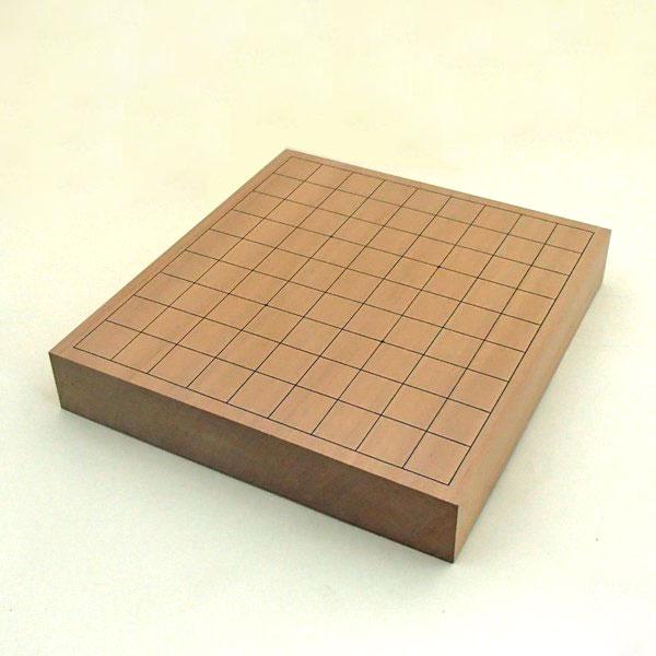 将棋盤 新桂20号一枚板卓上将棋盤竹